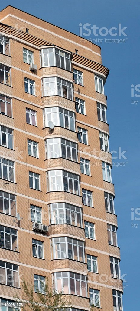edge of home building royalty-free stock photo