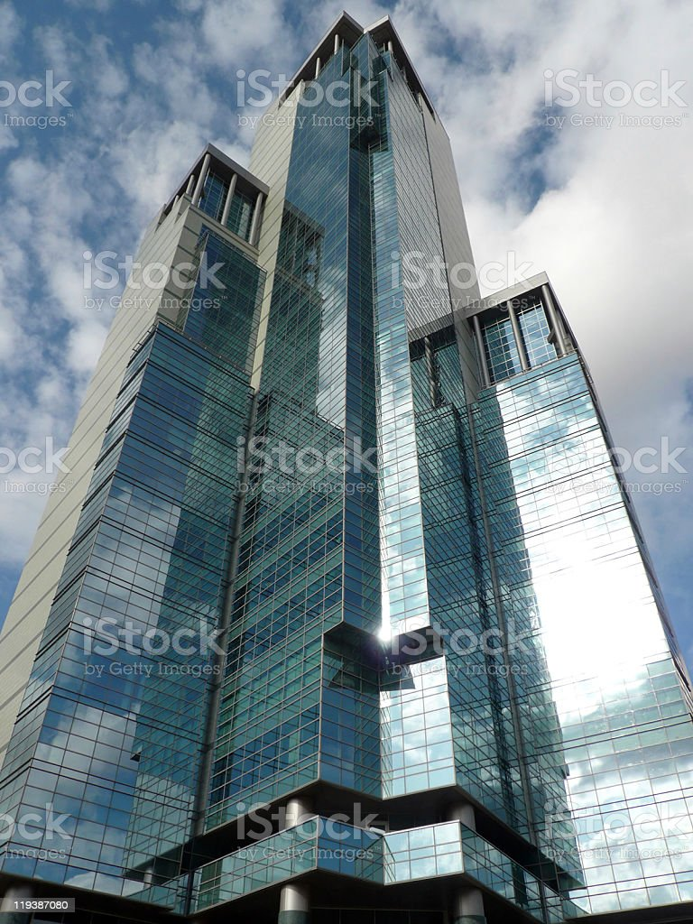 edge of office building royalty-free stock photo