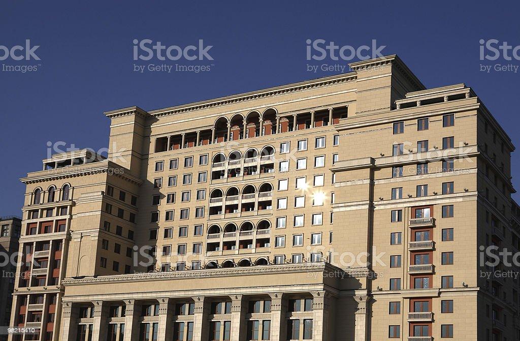 에지 오피스 빌딩 royalty-free 스톡 사진