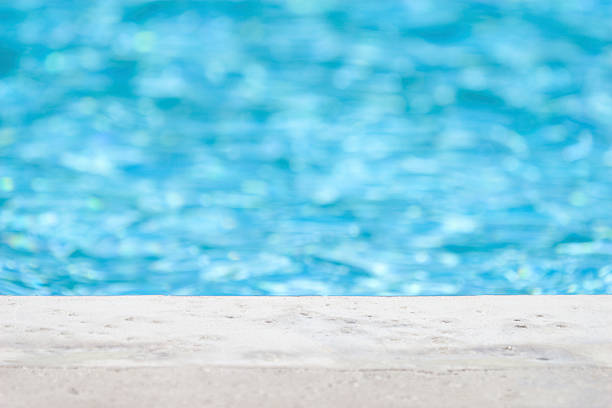 Edge of pool Edge of pool poolside stock pictures, royalty-free photos & images