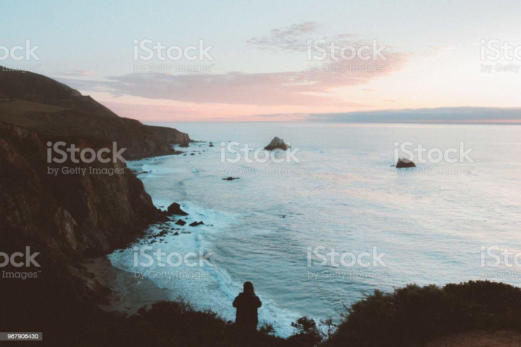 Edge of the World stock photo