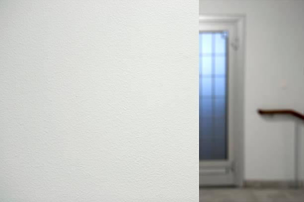 Edge of wall stock photo