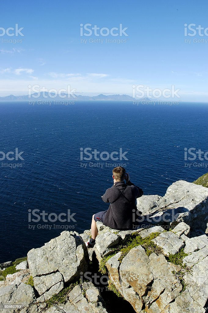Edge of World 2 royalty-free stock photo