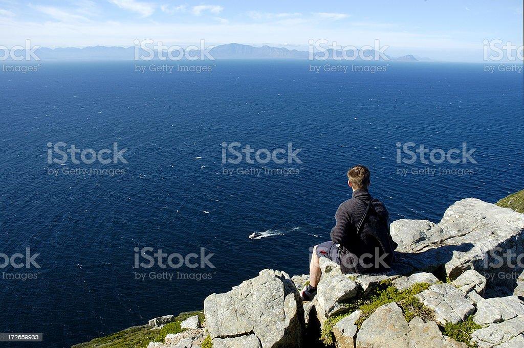 Edge of World 3 royalty-free stock photo