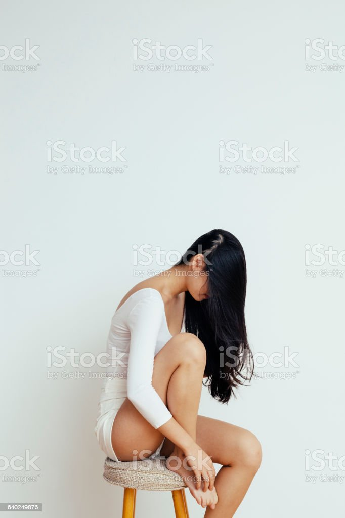 Edgy Portrait stock photo