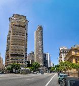 Edificio Italia (Italy Building) in downtown Sao Paulo - Sao Paulo, Brazil