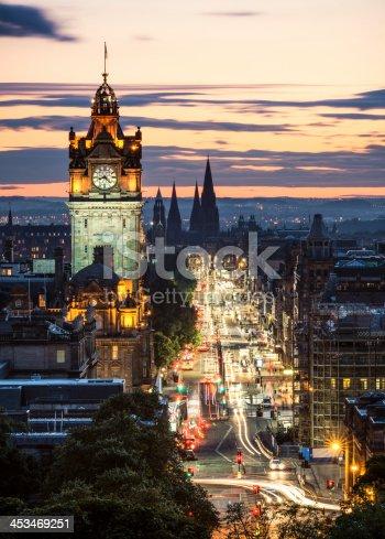820883024istockphoto Edinburgh After Sunset 453469251