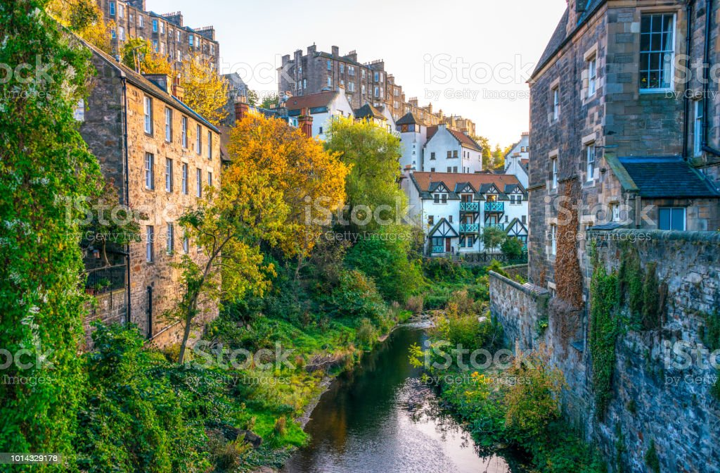 Edinburgh - Architektur auf dem Wasser von Leith – Foto