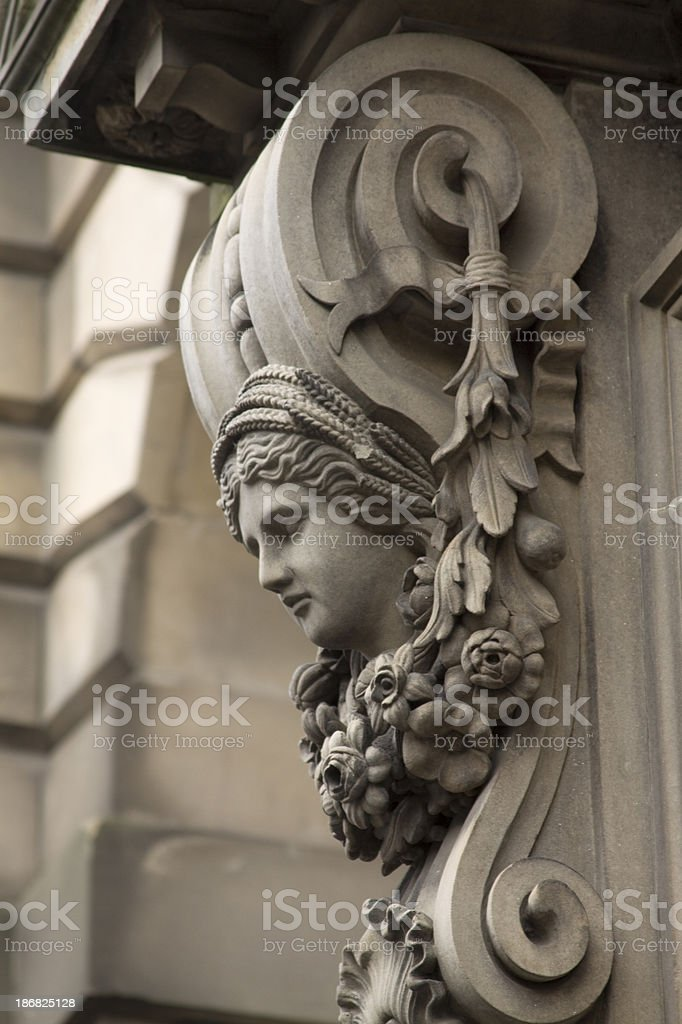 Edinburgh Architecture Detail. royalty-free stock photo