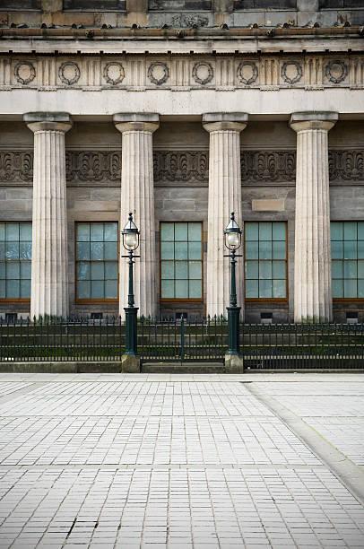 Edinburgh architecture stock photo