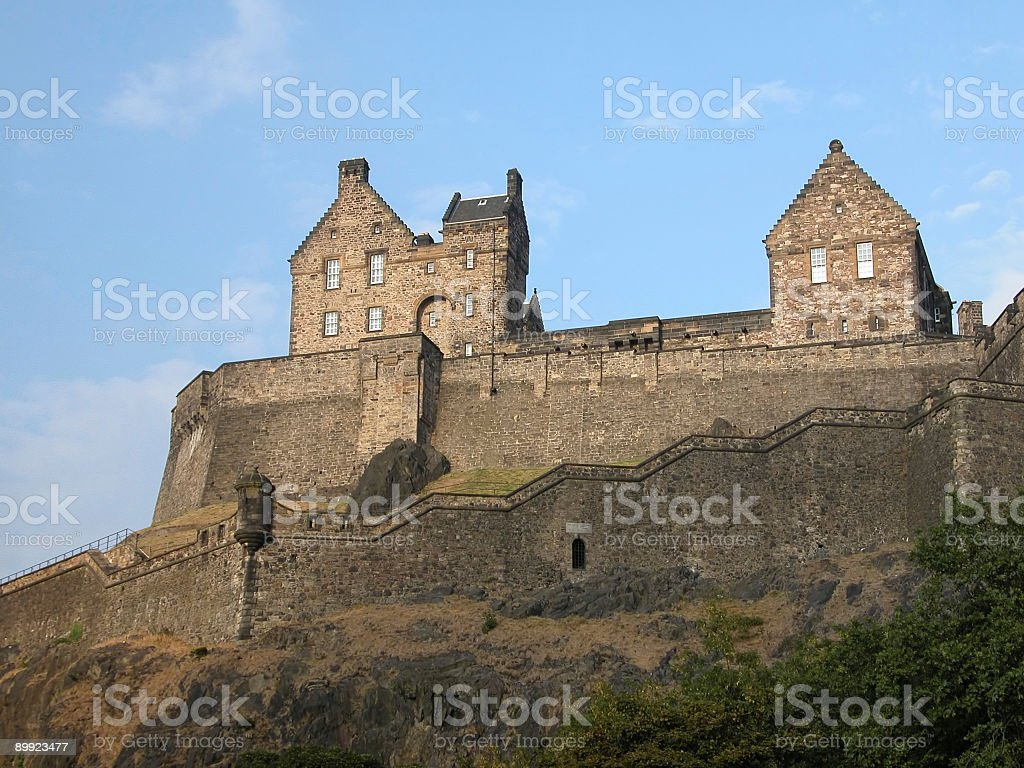 Edinburgh Castle 2 stock photo
