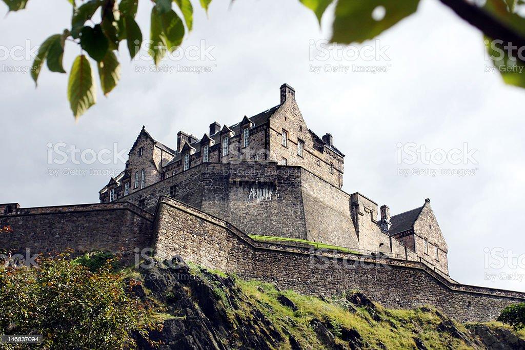 Edinburgh Castle royalty-free stock photo