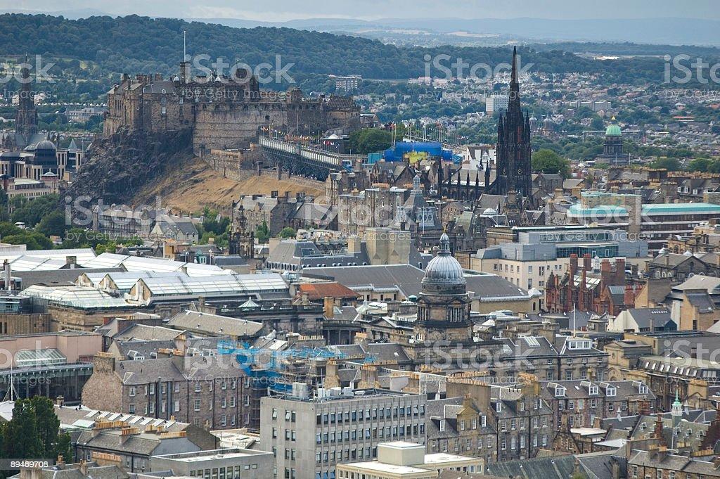 Edinburgh Castle, Scotland royalty-free stock photo