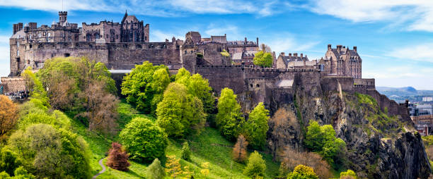 Edinburgh Castle, Schottland, UK – Foto