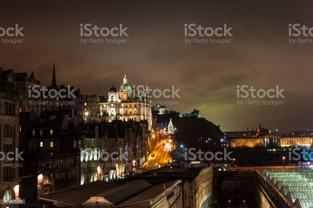 Edinburgh City Hall stock photo