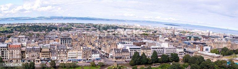 A view across the wonderful city of Edinburgh, the capital of Scotland.