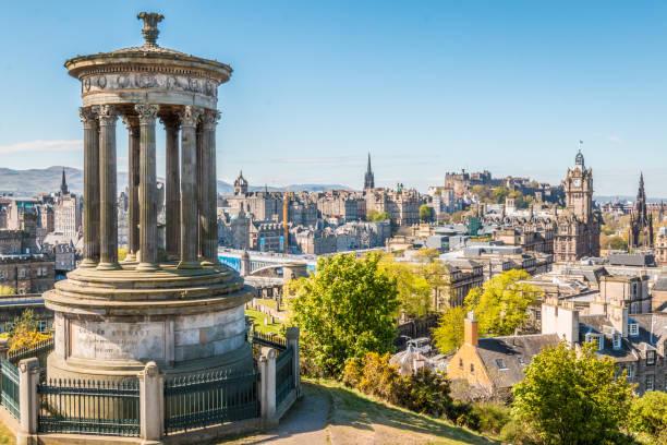 Edinburgh city Scotland princes street edinburgh stock pictures, royalty-free photos & images