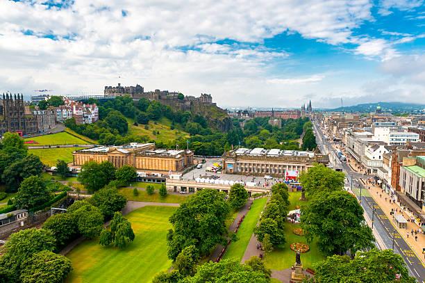 Edinburgh Cityscape, Scotland