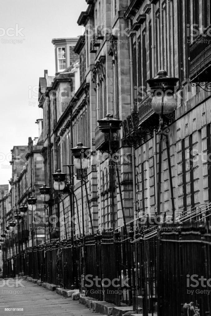 Edinburgh Newtown stock photo