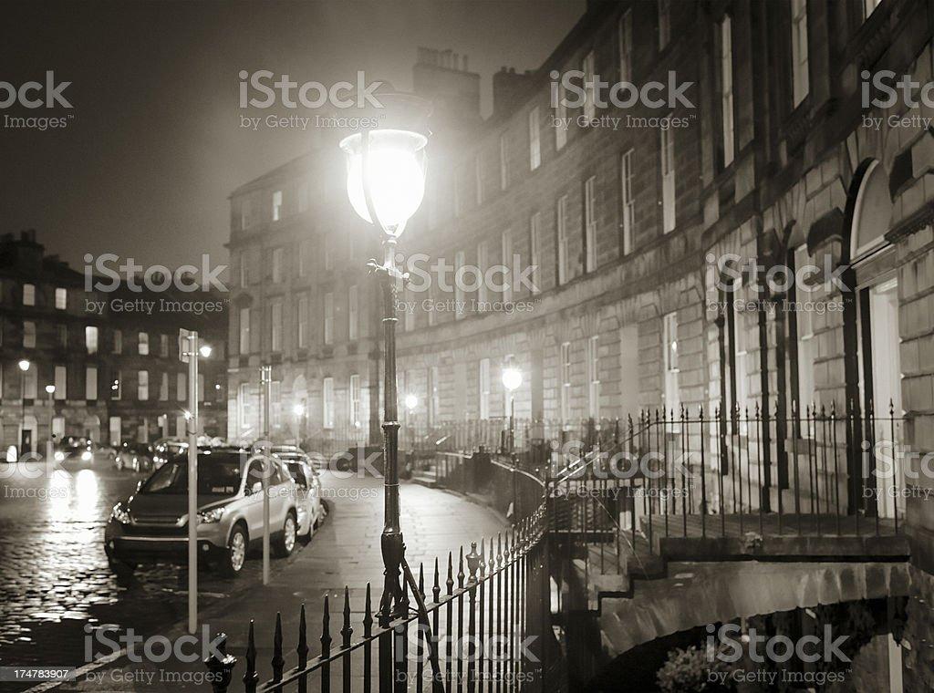Edinburgh Night stock photo