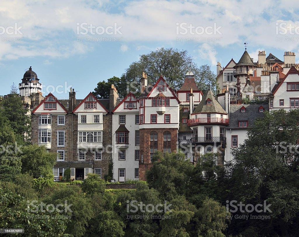 Edinburgh Old Town stock photo