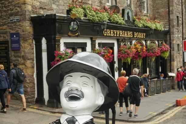 Edinburgh, Oor Wullie stock photo