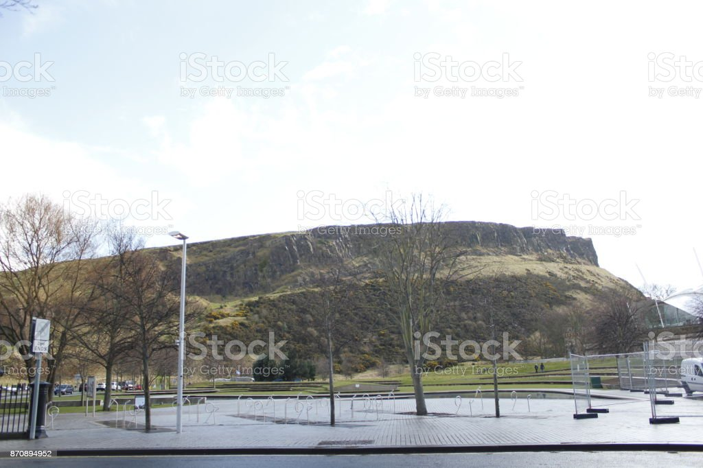 Parque Edimburgo stock photo