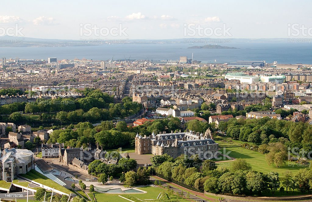Edinburgh stock photo