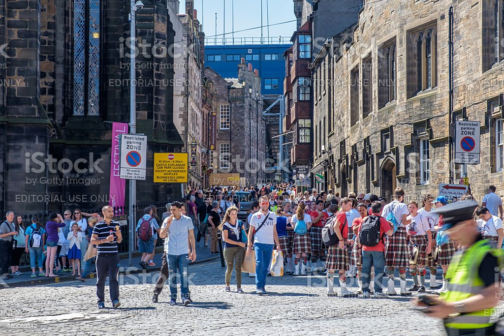 Edinburgh , Scotland. – Foto