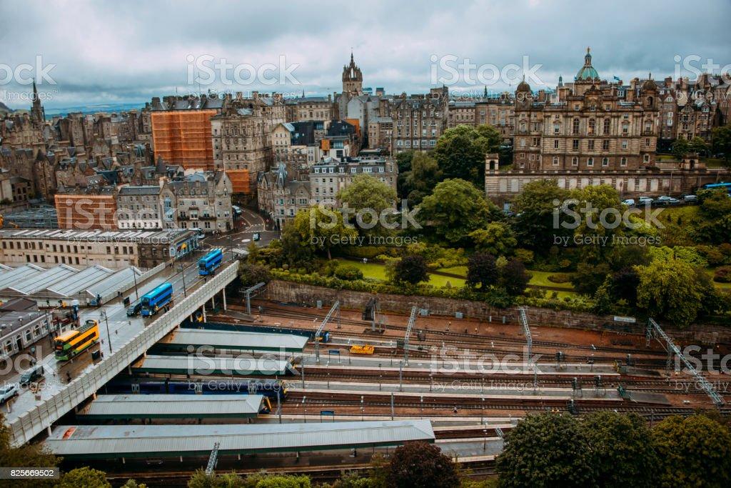 Edinburgh, Scotland stock photo