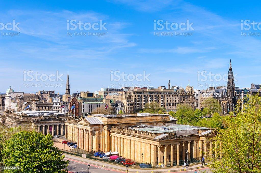 Edinburgh, Scotland, UK stock photo