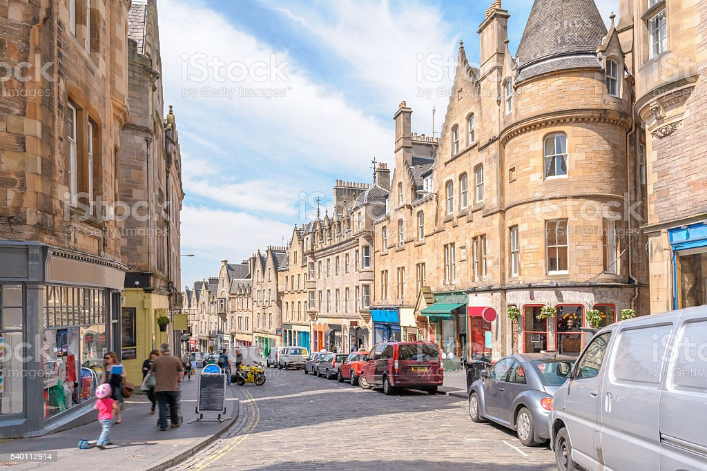 Edinburgh, Scotland, UK stock photo