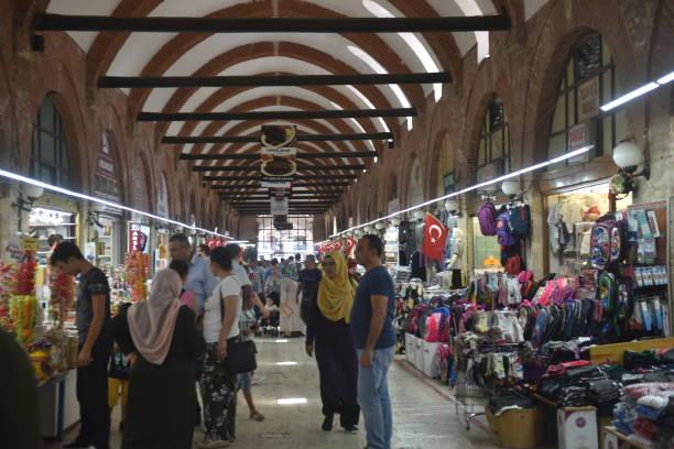 edirne grand bazaar - edirne stock-fotos und bilder