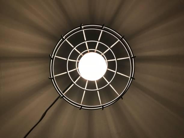 Edison Light stock photo