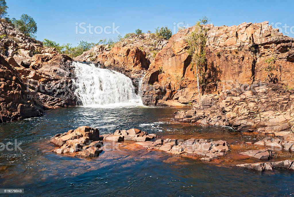 Edith Falls, Australia stock photo
