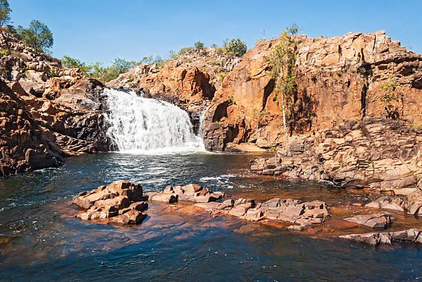 edith falls, australia - darwin stock photos and pictures