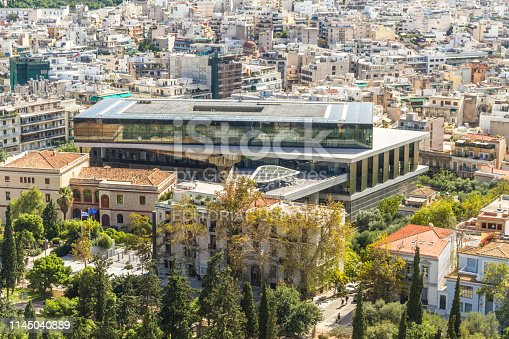 Athens, Greece – Acropolis Museum on October 25 2018 in Greece.