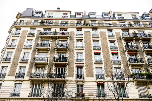 Editorial picture of Sacre coeur Montmartre in paris city, taken 25 12 2018