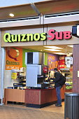 Edmonton Airport Quiznos Fast Food