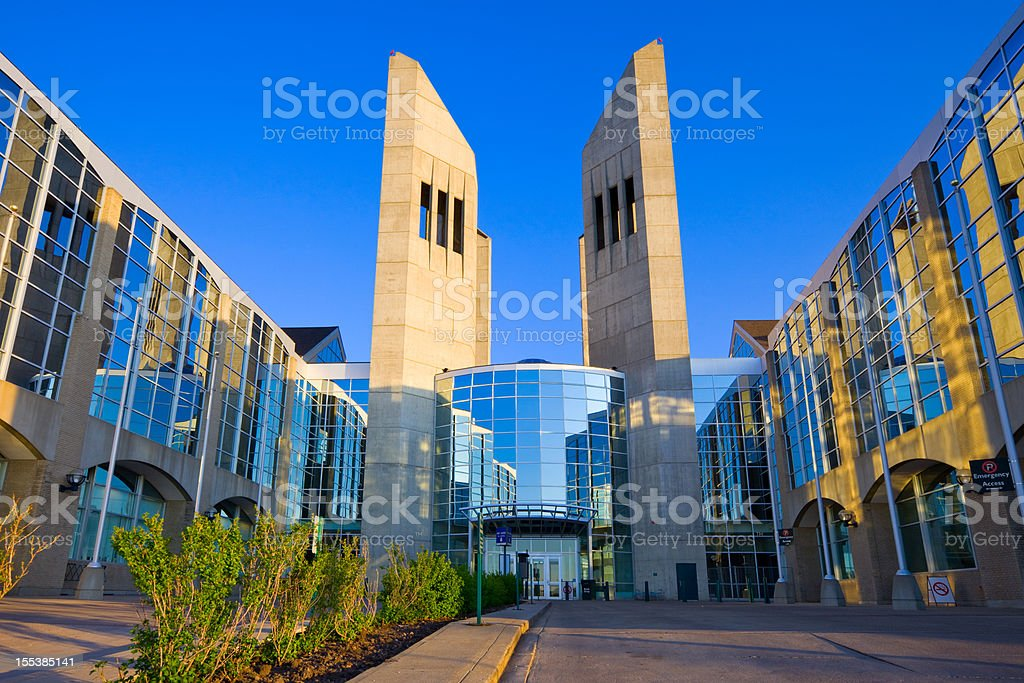 Edmonton Canada Grant MacEwan University stock photo