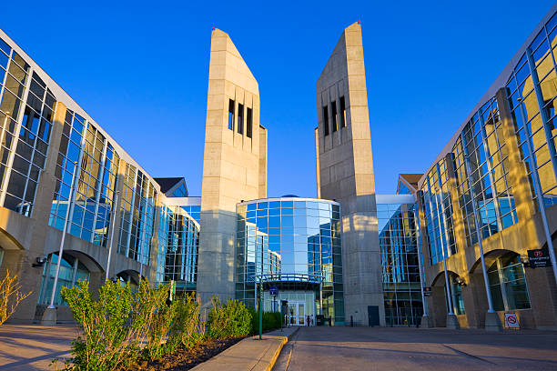 Edmonton Canada Grant MacEwan University stock photo