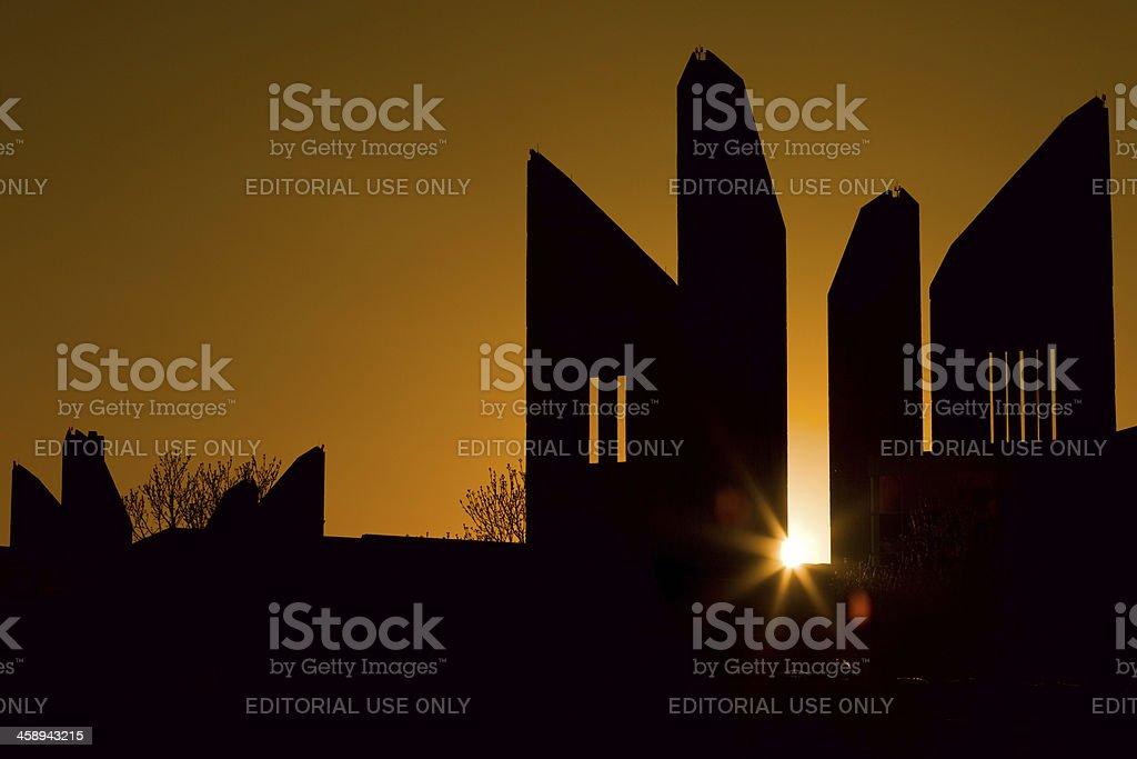 Edmonton, Canada, Grant MacEwan University stock photo