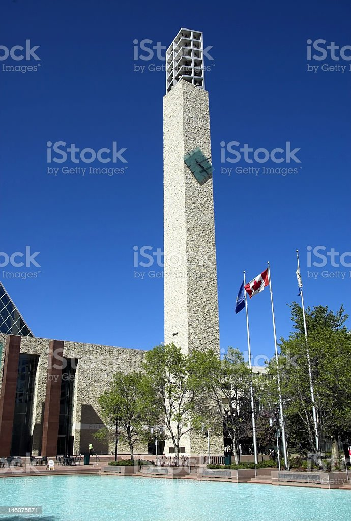 Edmonton City Hall stock photo