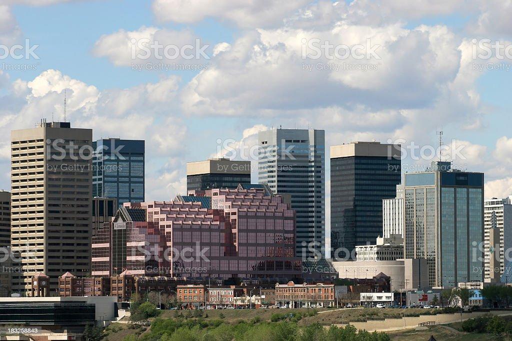 Edmonton Downtown # 2 royalty-free stock photo
