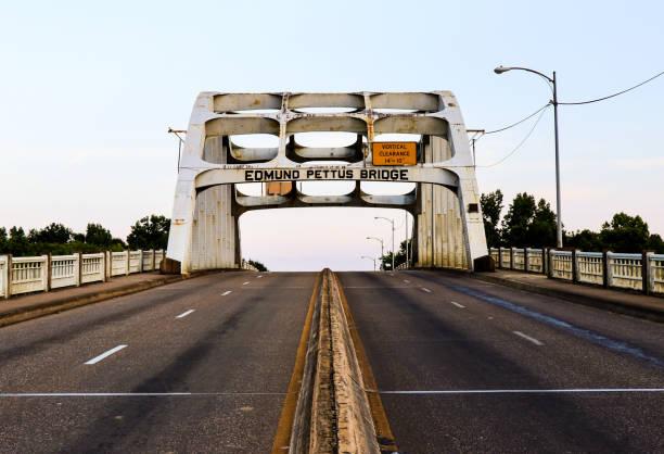 Edmund Pettus Bridge Selma, Alabama civil rights stock pictures, royalty-free photos & images