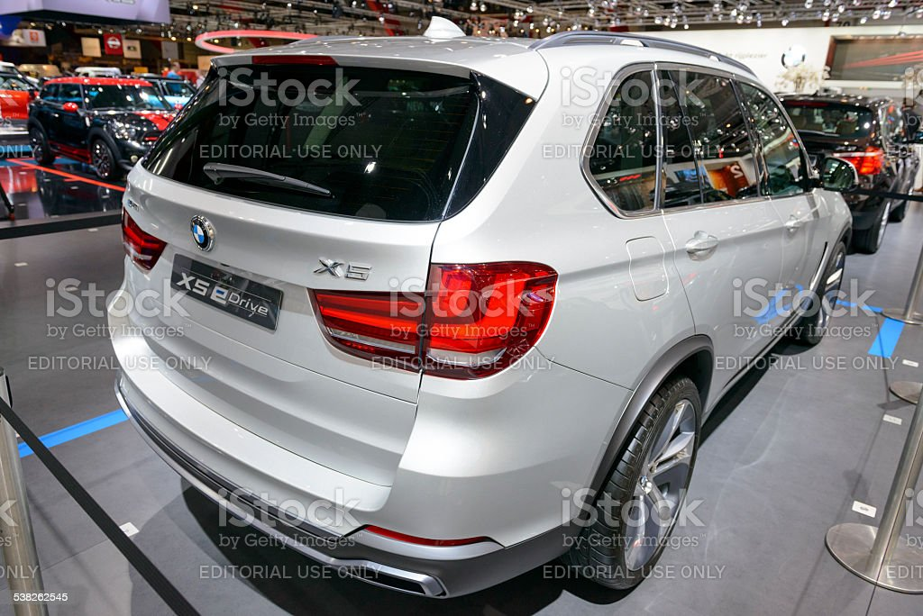 Bmw X5 Edrive Electric Plugin Hybrid Concept Suv Stock Photo More