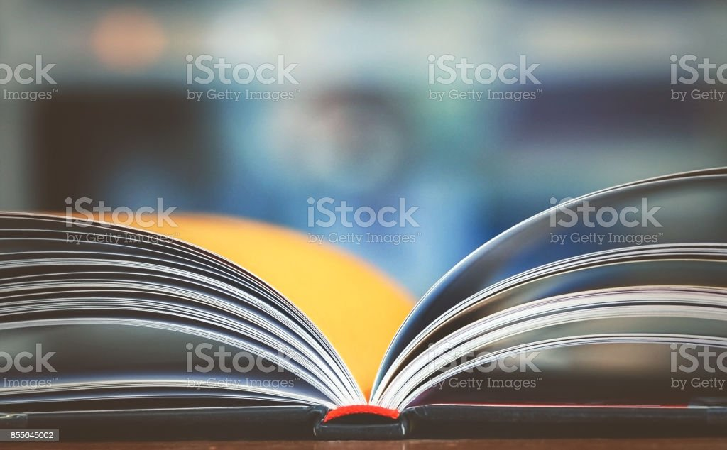 Education and business background stock photo