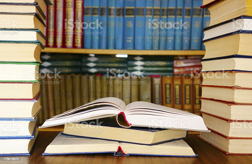 education books royalty-free stock photo