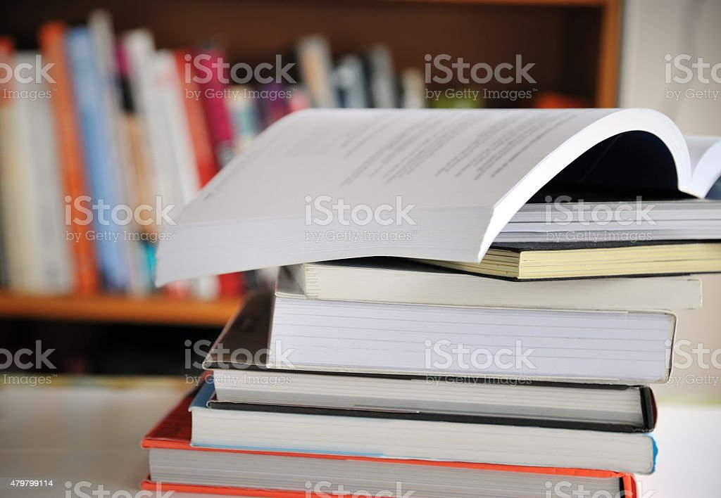 Education books stock photo