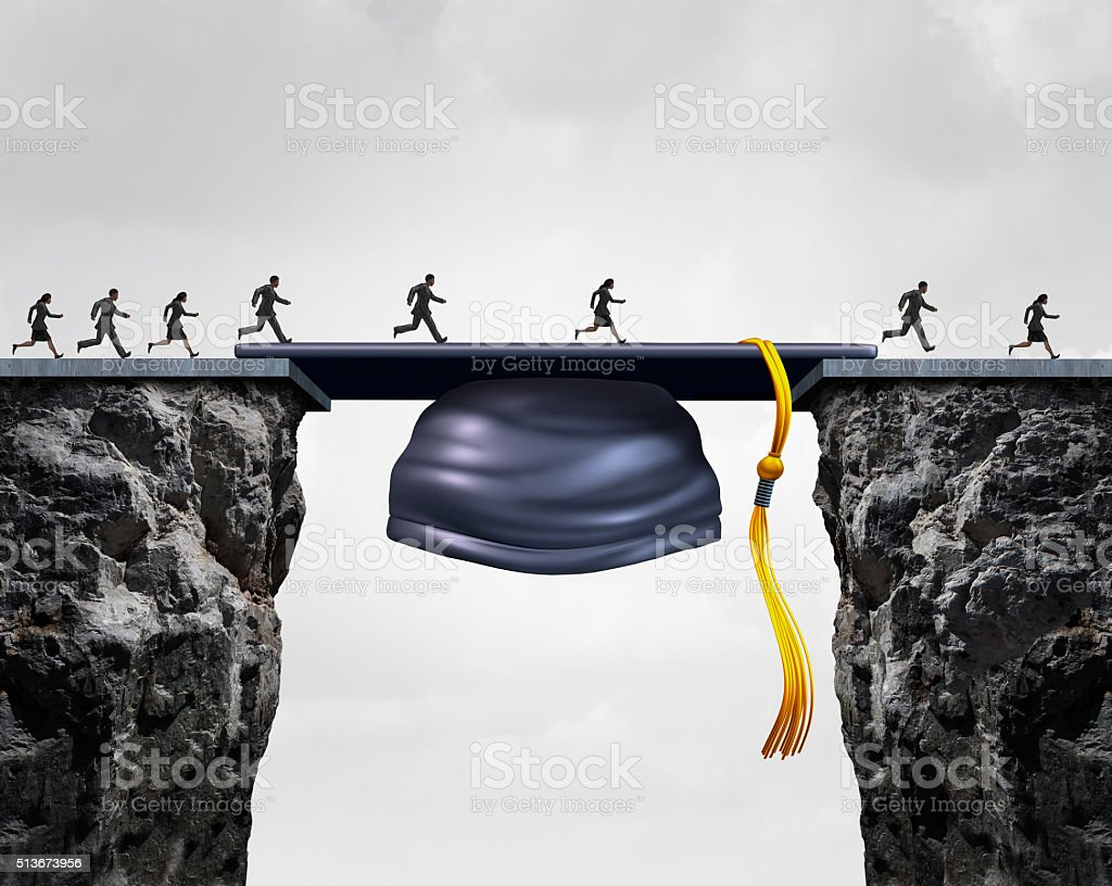 Education Career Opportunities stock photo